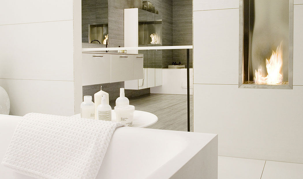 Creating bathroom retreat at home